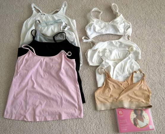 Maternity nursing tank tops bra size S M - $3 (South College Station)