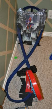 Spiderman Hot Wheels race track - $10 (College Station, TX)