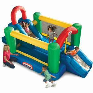 Double Slide Bounce House by Little Tikes - $150 (Bryan)