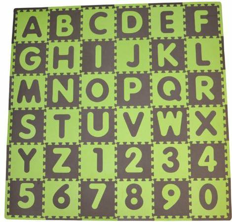 Alphabet Foam Mats - New -   x0024 20  College Station