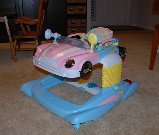 Baby Walker - Pink Car - by Combi - $60 (College Station, Texas)