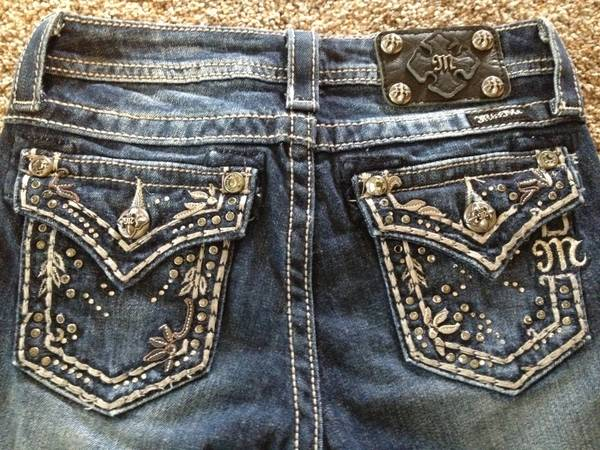 Miss Me Jeans  Girls Size 12  Bootcut -   x0024 30