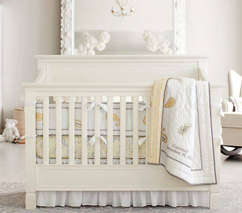 Pottery Barn Baby girl bedding- courtney bedding - $100 (College Station)