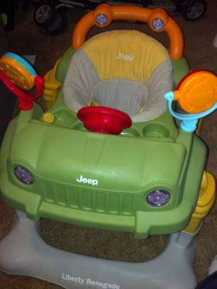 jeep renegade baby walker - $35 (navasota, tx)
