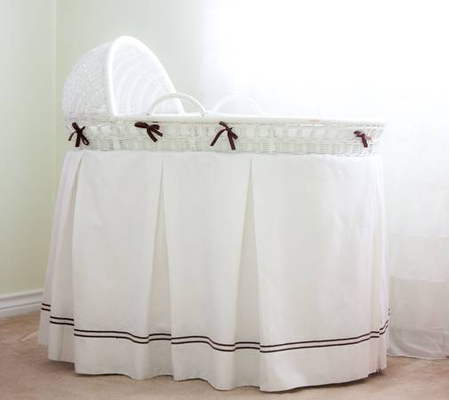 Gorgeous Pottery Barn Kids Bassinet Mattress Bedding - $275 (College Station)