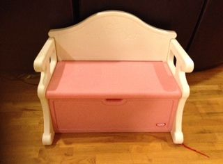 Little Tikes toy storage bench - $25 (College Station)