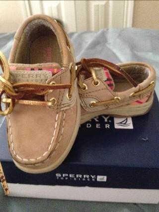 sz 5 toddler girl Sperry (CS)