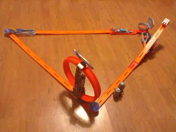 Hot Wheels Race Track - $12 (College Station)