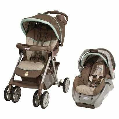 Graco Alano Classic Travel System - Meadow Menagerie more - $100 (College Station)
