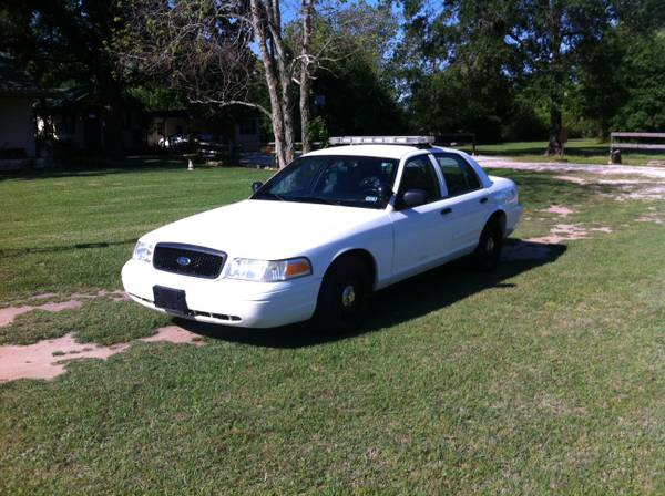 2008 Ford Crown Victoria Police Interceptor - $6950 (Montgomery, Tx)