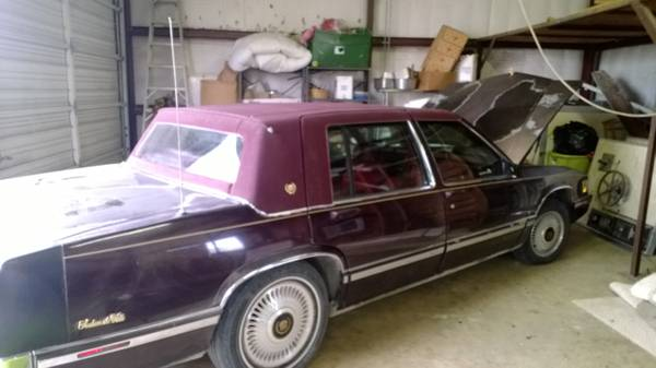 1993 Cadillac Deville  - x00242000 (Normangee tx)