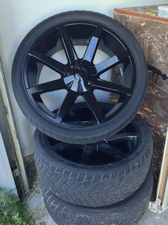 excellent condition KMC slides 24 rims and tires - $1200 (BCS)