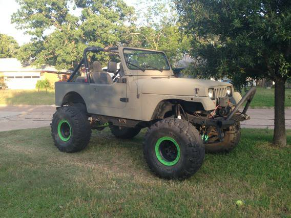 Monster 89 Jeep YJ WTSWTT - $8000 (College Station )