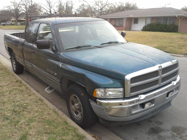 1995 Dodge 1500 Pickup with Rigid Job Box $2500 - $2500 (Bryan, TX)