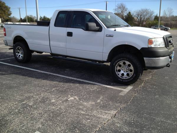 2005 Ford F-150 4x4 Extended Cab 5.4L XLT - $10500 (College Station)