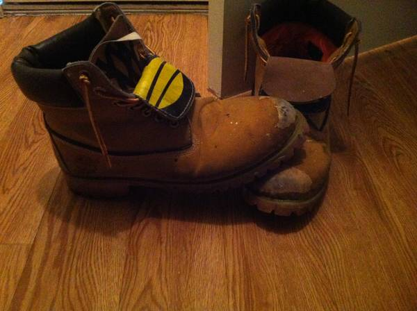 Used Timberland Work Boots Size 9 -   x0024 1  College Station Tx