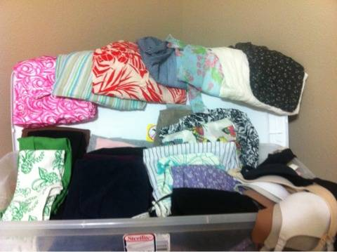 Box of Maternity clothing - $50 (South college station)