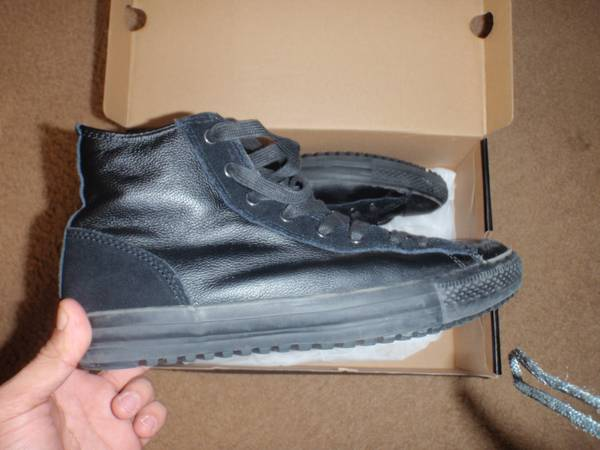 Converse Black shoes - $25 (College Station)