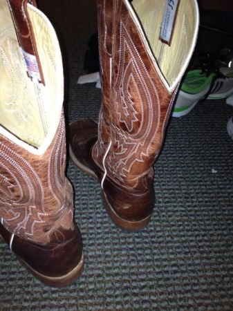Lightly Used Anderson Bean Cowboy Boots, were $400. Great Condition - $300 (Northgate)