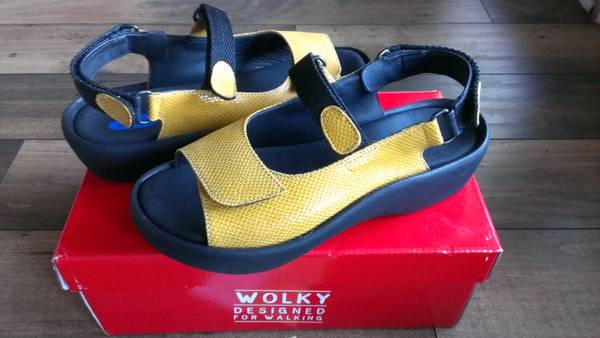 Wolky Jewel sandals (Women) size 39 (7.5 US) - $105 (Rock Prairie Victoria area)