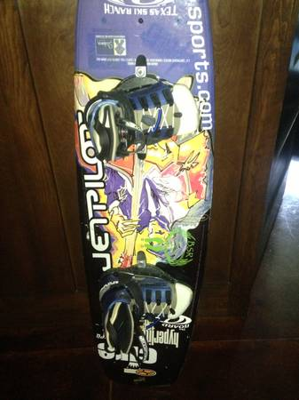 Hyperlite 136 Belmont wakeboard signed by Shaun Murray - $250 (College station )