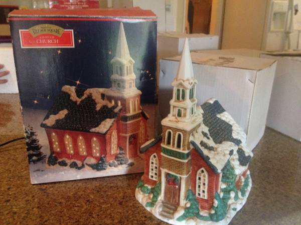 Christmas Village Square - Christmas Village - $25 (College Station)