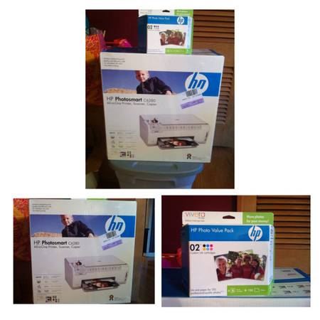 NEW in box HP Photosmart C6280 All-in-Ine printer, scanner and copier w photo v - $100 (College Station )