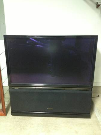 This is a 55 inch Pioneer Elite projection TV with HDMI- 50$ - $50 (Bryan)