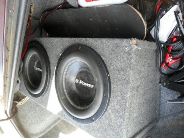 2 12 Q Power Deluxe Series Subwoofers - $130 (BryanCollege Station)