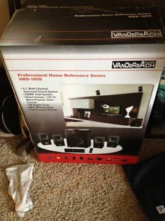 Brand new Vanderbach Audio System - $750 (College Station)