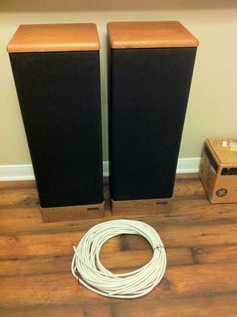 Advent Prodigy tower speakers Monster Cable - $50 (College Station, TX)