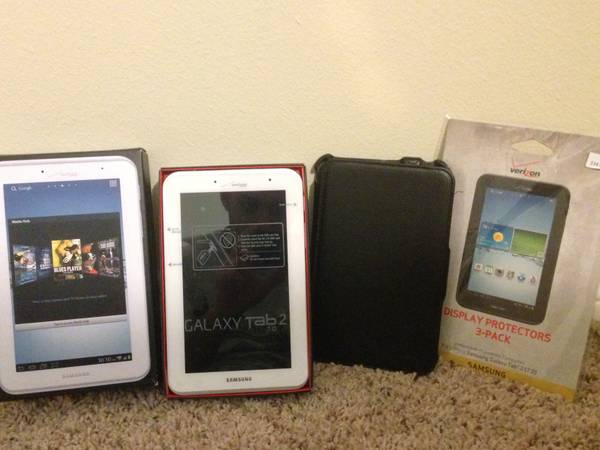 Verizon Galaxy Tab 2 - 7.0 Perfect Condition with EXTRAS - x0024175