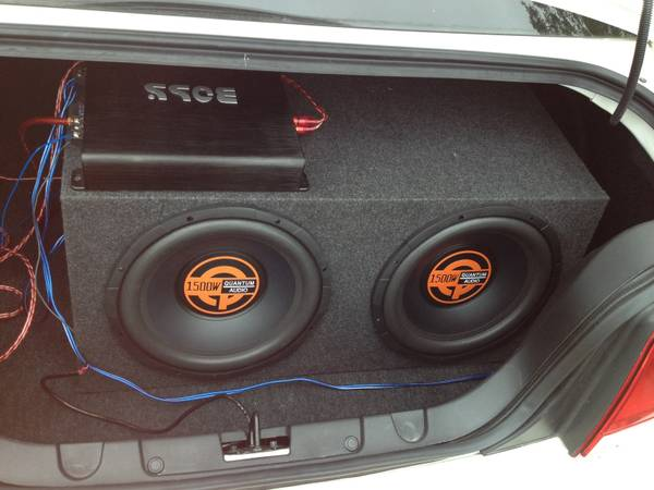 Two 12s with box $150 Amp $75 - $150 (College station)
