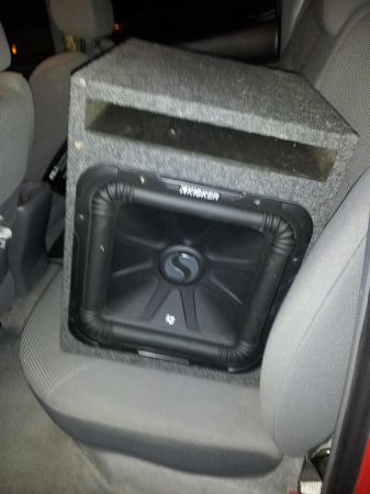 one 12 KICKER L3 solo baric never used comes with box - $250 (college station )