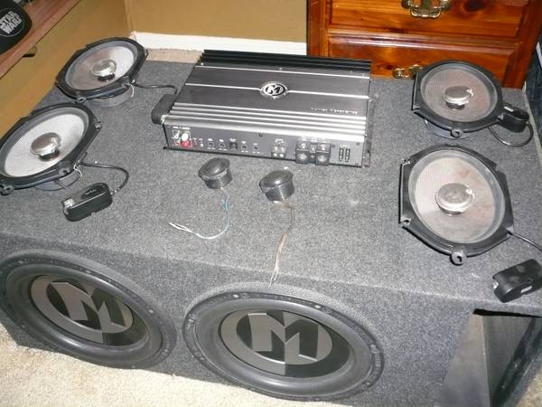 Full Car Audio Set - $1000 (Katy, Texas)