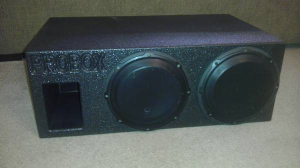 Two JL Audio 10 W3 Subs in a ProBox - $250 (Bryan, TX)