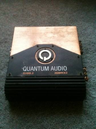 Quantum Audio Amp - $100 (College Station)