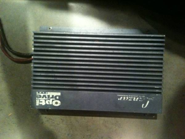 Lanzar Optidrive Plus 100 Old School Amp - $55 (College Station)