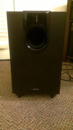 Onkyo 10 Powered Subwoofer- Home Theater - $100 (College Station)