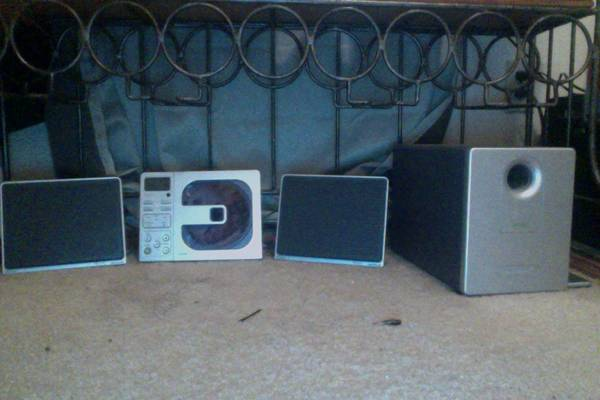 Great Brookstone Stereo System - $1 (College Station, TX)