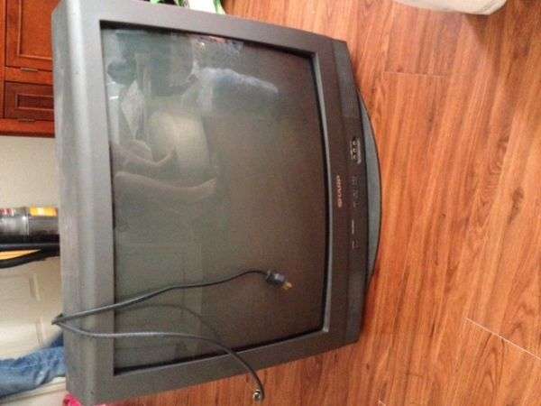 27 Sharp Tube TV w remote - $60 (College Station)