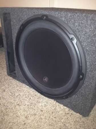 JL W6 12inch Sub (brand new) - $300 (college station)