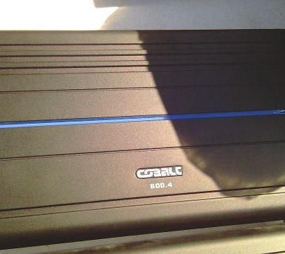 Orion Cobalt CO600.4 4 Channel Amplifier - $140 (105 W. 32nd St Bryan,Tx 77803)
