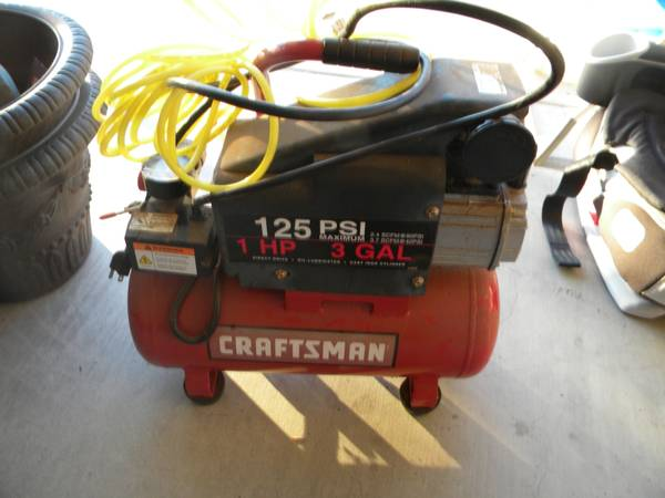 Craftsman 125 psi Air Compressor - $50 (College Station)