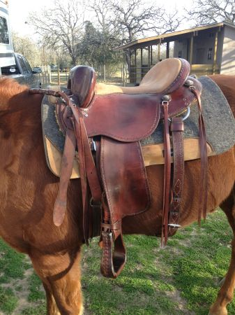 Clinton Anderson Saddle - $1600 (College Station)