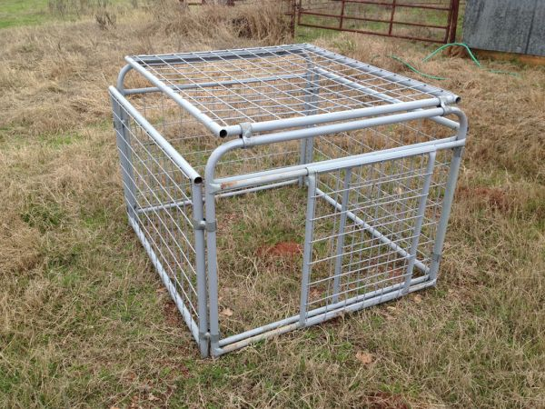 Livestock Show Transport Cage - $250 (Giddings, Texas)