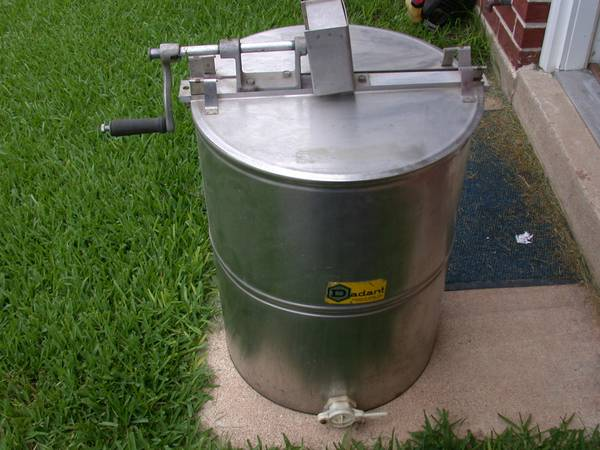 4 frame honey extractor - $150 (College Station)