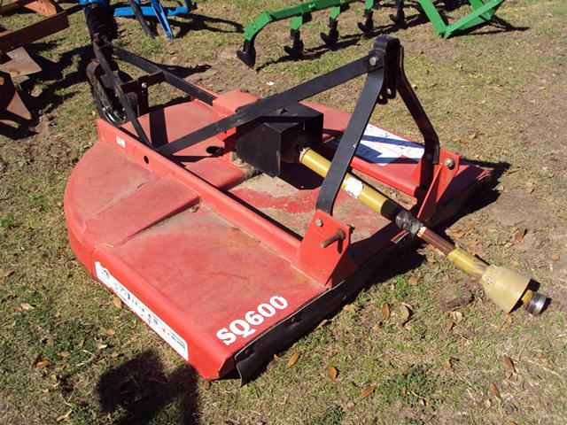 Bush Hog SQ600 heavy duty 3pt 5 foot brush hog mower