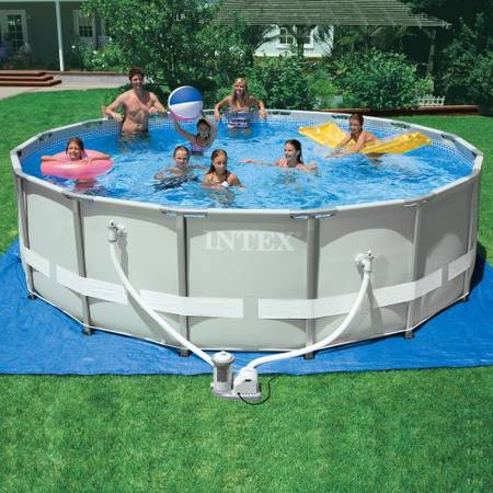 16 x 24 Intex Swimming Pool -   x0024 175  College Station  texas