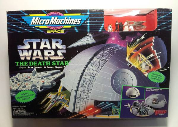 Micro Machines Star Wars Death Star -   x0024 30  Bcs